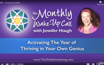 VIDEO: Activating The Year of Thriving in Your Own Genius